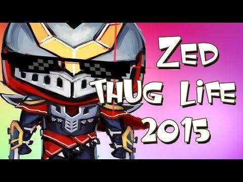 【動画】Zed Thug Life Compilation 2015まとめ LOLまとめ@Shen速報