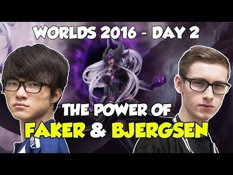 【動画】Championship Day2見どころまとめ The Power of FAKER  BJERGSEN LOLまとめ@Shen速報